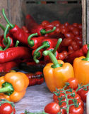 Collection of fresh produce Stock Photography