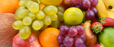 Collection of fruit Royalty Free Stock Images