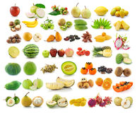 Collection of fruit for healthy Royalty Free Stock Photo