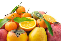 Collection fruit Stock Photos