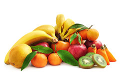 Collection fruit Stock Image
