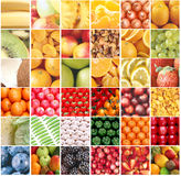 Collection of fruit and vegetable Stock Photo