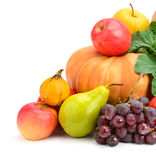 Collection fruit and vegetables Royalty Free Stock Images
