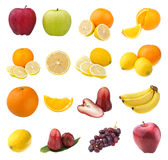 Collection of fruits Stock Image
