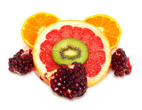 Collection of fruits Royalty Free Stock Image