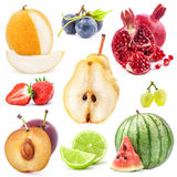 Collection of fruits Royalty Free Stock Images