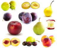 Collection of fruits Royalty Free Stock Photography