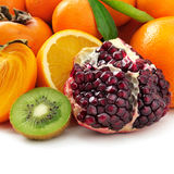 Collection fruits Royalty Free Stock Photography