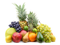 Collection fruits Stock Image