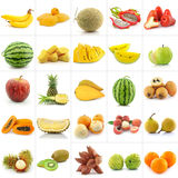 Collection of Fruits Stock Photography