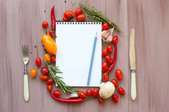 Collection fruits and vegetables isolated. Stock Photo
