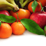 Collection fruits Stock Photography