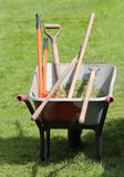 Collection of Garden Tools. Stock Image