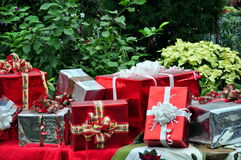 Collection of gifts Royalty Free Stock Photos
