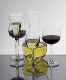 Collection of glasses. With carafe Royalty Free Stock Photos