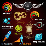 Collection of glossy and 3d vector icons. For your business artwork. Vector design ellements vector illustration