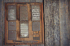 Collection of Graters Stock Images