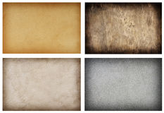 Collection of grunge backgrounds Stock Image