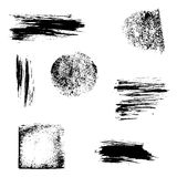 Collection Grunge design elements. Royalty Free Stock Images