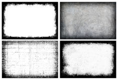 Collection grunge frame - Creative background with space for you Stock Image