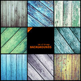 Collection of grunge textures and backgrounds Royalty Free Stock Photos