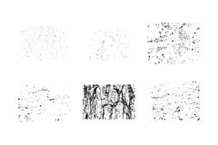 Collection of grunge textures. Make your own Stock Photography