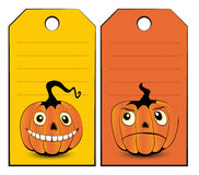 Collection of halloween banners Stock Images
