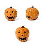 Collection of halloween pumpkin Royalty Free Stock Image