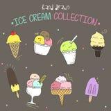 Ice Cream Collection royalty free stock photos