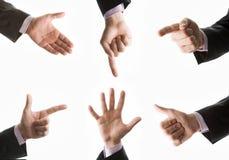collection hands Стоковая Фотография RF