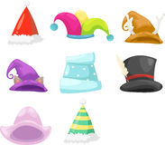 Collection hat Royalty Free Stock Photo
