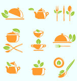 Collection of Healthy Eating Royalty Free Stock Photos