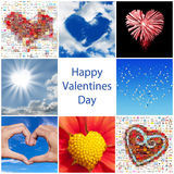 Collection of hearts Royalty Free Stock Photography