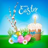 Collection heureuse de Pâques Photos libres de droits