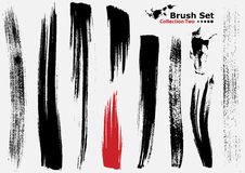 Collection of highly detailed vector brushes - 2 Royalty Free Stock Photos