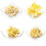 Collection of homemade italian pasta Stock Photography