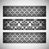 Collection horizontal banners in the style of Royalty Free Stock Images
