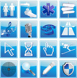 Collection icon Stock Image