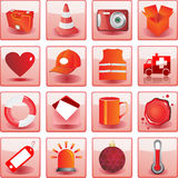 Collection icon Stock Photography