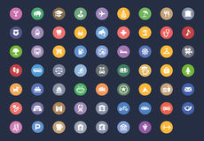 Collection Icon user interface web Stock Photography