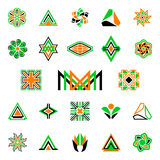 Collection icons Royalty Free Stock Photo