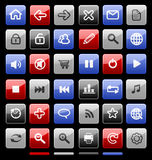 Collection of icons. Royalty Free Stock Image