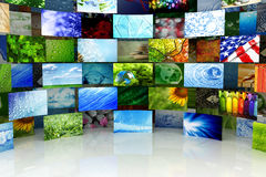 Collection of images Royalty Free Stock Image