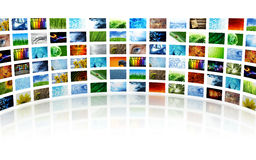 Collection of images Stock Photography
