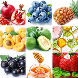 Collection of images of food stock images