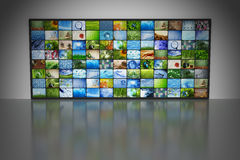 Collection of images stock illustration
