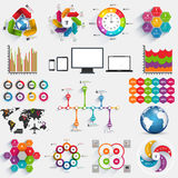 Collection of infographics vector design template Stock Photo