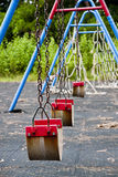 Collection of isolated play equipment Stock Photography
