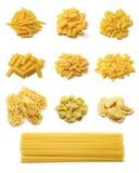 Collection italienne de pâtes Photo stock