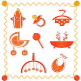 Collection of items Royalty Free Stock Image